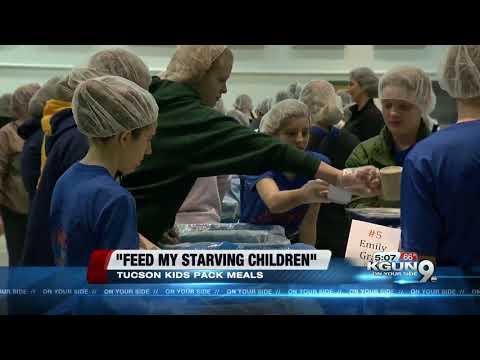 Tucson kids help starving kids across the world