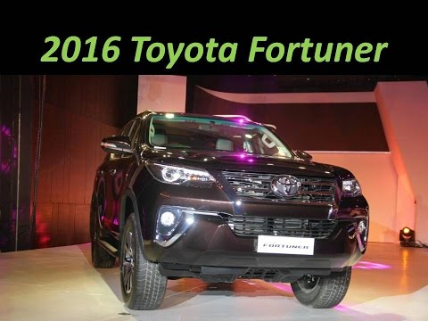 2016 Toyota Fortuner : Features, Specs, Price