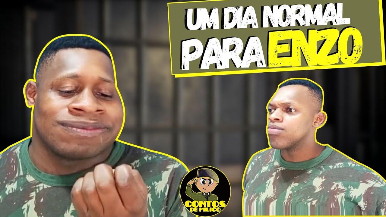 🔰 Um Dia Normal Para o Enzo (Exército Brasileiro)