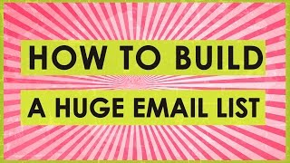How to Build a Massive Email List with Kindle Publishing