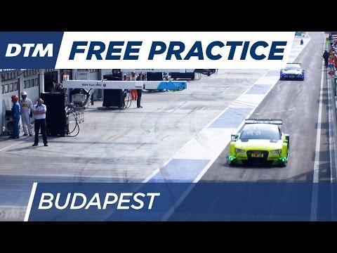 DTM Budapest 2016 - Free Practice 3 - Re-Live (German)