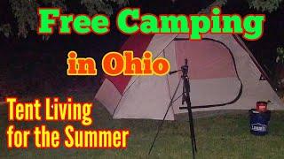 Tent Living, Free Primitive Campsites In Ohio