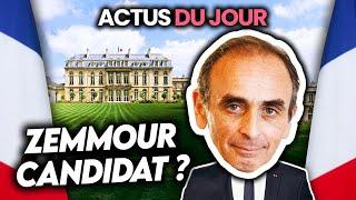 Zemmour candidat à la présidentielle potentiel, Gérard Depardieu accusé, Qatar... Actus du jour