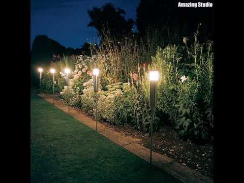 Cheap Garden Lighting Ideas & Cheap Garden Lighting Ideas - YouTube azcodes.com