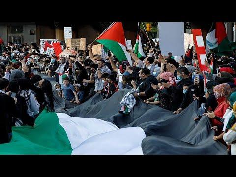 فيديو | الآلاف يتظاهرون في نيوزيلندا وأستراليا وكندا والولايات المتحدة تأييدا للفلسطينيين…  - نشر قبل 18 ساعة