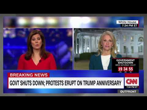 "Erin Burnett Throws SHADE At Kellyanne, ""How is Trump A MASTER Dealmaker & The Govt is SHUTD0WN?"