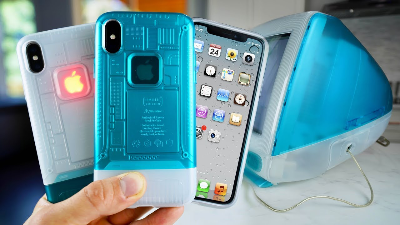 sports shoes 65488 48f53 The iMac G3 iPhone X Case! I'm Gonna Cry..