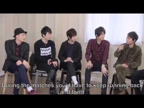 Haikyuu Stage Play Group Interview part 3 ENG SUB