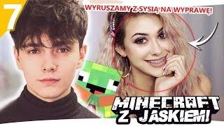 WYRUSZAMY Z SYSIĄ PO DIAXY - Minecraft z Jaśkiem #7 | SYLWIA PRZYBYSZ I JDABROWSKY