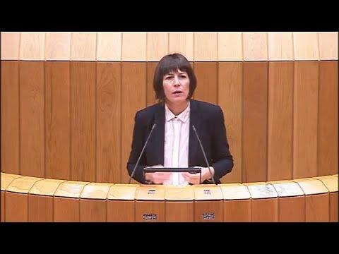 Ana Pontón presenta as propostas do BNG no Parlamento Galego