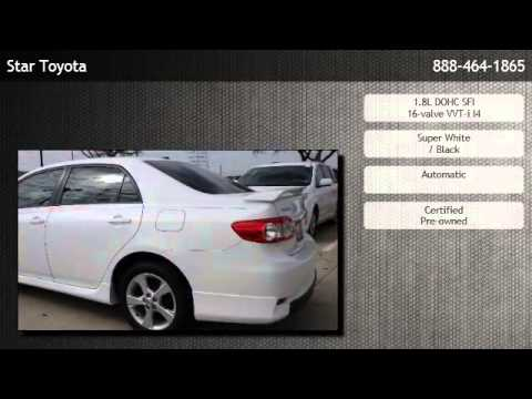 Captivating 2012 Toyota Corolla Sedan Automatic S W/ Navi   League City