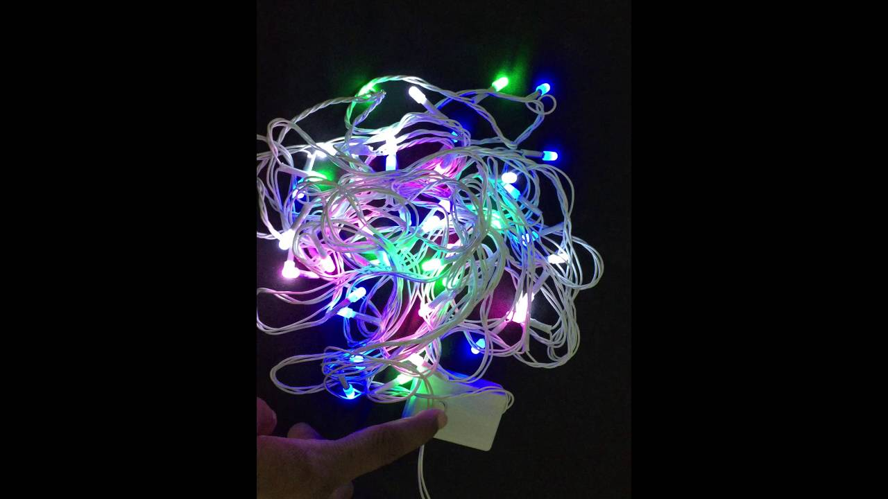 lights fairy wire products light copper multicolor decorative led stripes string rgb decor