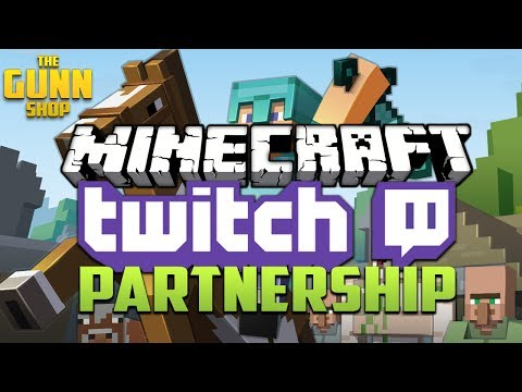NEW Minecraft Twitch Partnership - Live Streaming Service