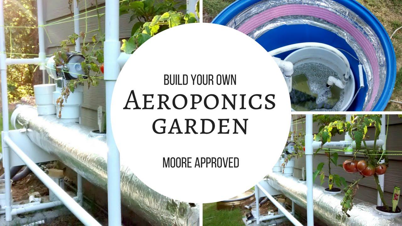 diy aeroponics garden system vol i youtube