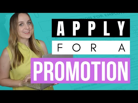 Apply For Promotion \u0026 Get Promoted At Work