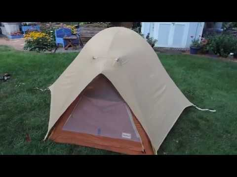 Eureka Expedition Sentinel 4-Season Tent(1982 Model) & Eureka Expedition Sentinel 4-Season Tent(1982 Model) - YouTube