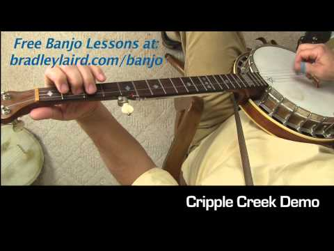 Cripple creek banjo clawhammer gospel