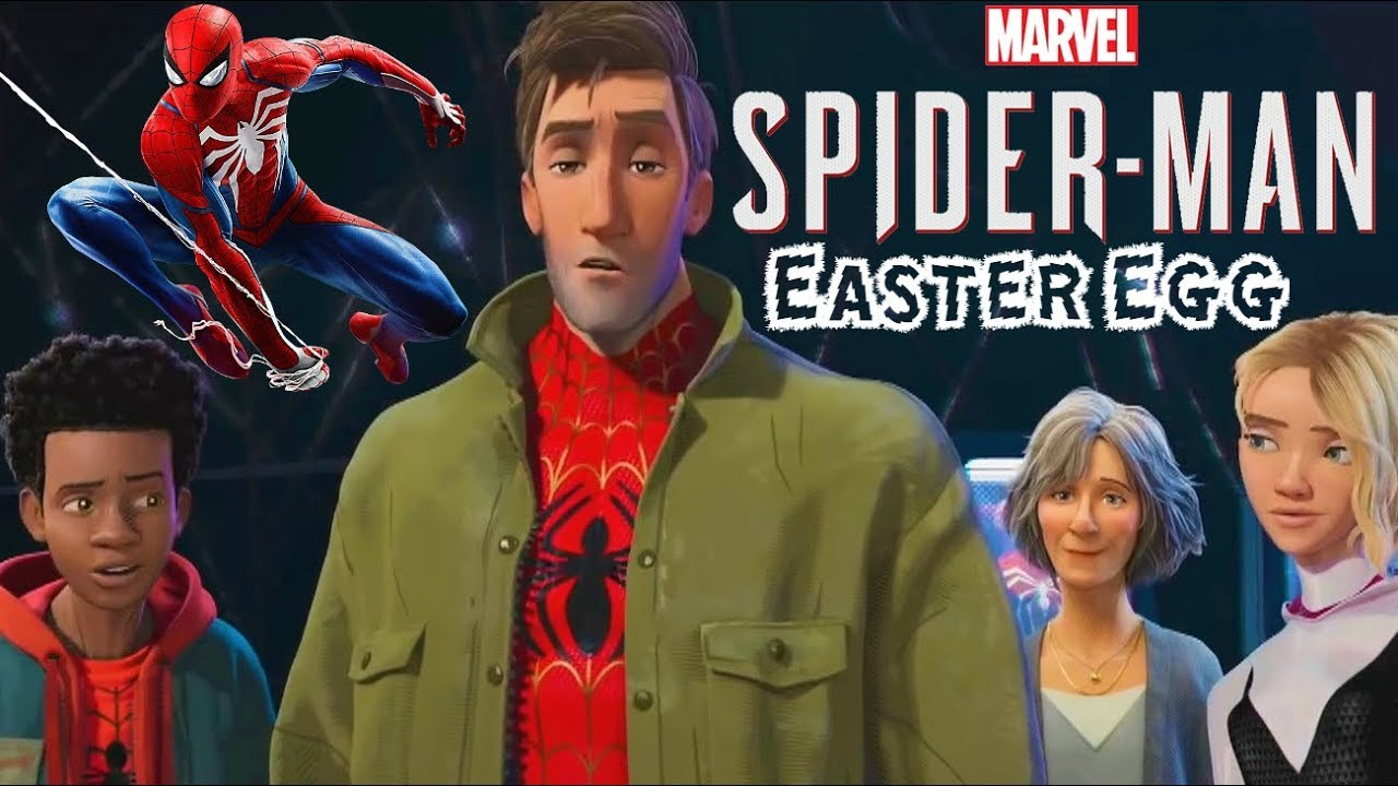 cba48e3662168 SPIDER-MAN PS4 EASTER EGG IN SPIDER-MAN  INTO THE SPIDER-VERSE ...