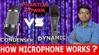 DYNAMIC VS CONDENSOR MICROPHONE WHICH IS BEST ? in hindi