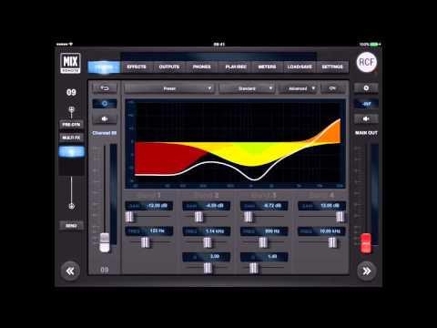 RCF M18 Digital Mixer Tutorial 3