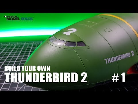 Build Your Own Thunderbird 2 - Pack 1