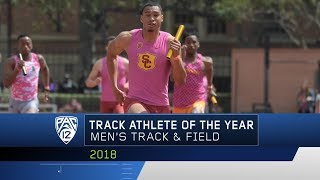 USC's Michael Norman is named the 2018 Pac-12 Men's Track Athlete o...