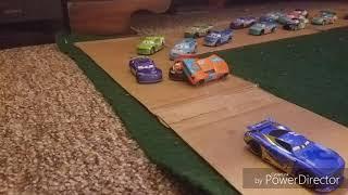 Loose Ryan Laney In Turn 3 | A Cars Crash StopMotion