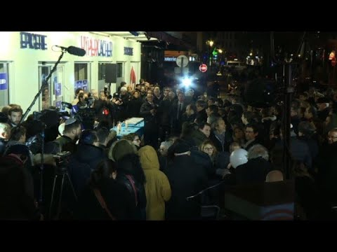 Sombre homage to mark 3 years since attack on Paris grocery shop