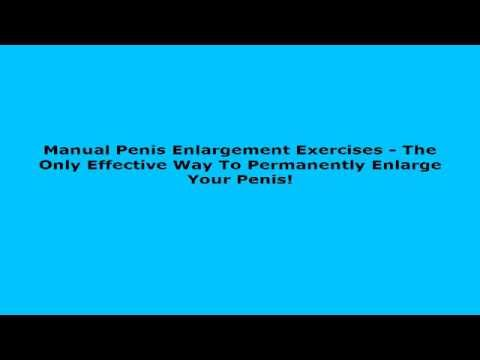 manual penis enlargement exercises the only effective way to rh youtube com