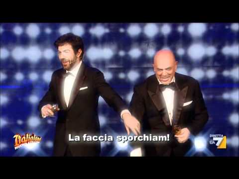 Crozza Italialand con Pier Francesco Favino I milionari nullatenenti 2011 12 23