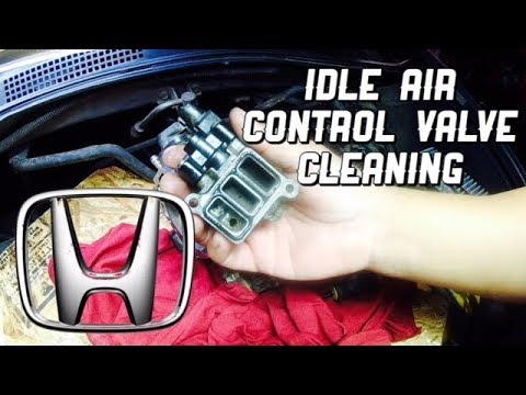 IACV Cleaning Removal Honda Accord V6 - How to Clean Idle Air Control Valve Accord 2002 2003