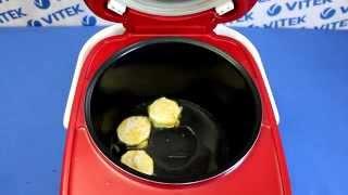 Рецепт приготовления жареных кабачков с чесноком в мультиварке VITEK VT-4214 R