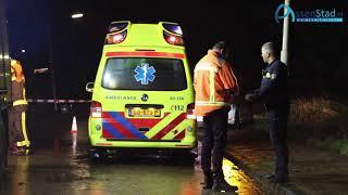 Vrouw bekneld in auto bij ongeval Assen