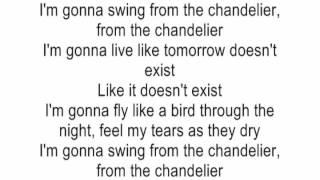 Glamorous Chandelier Lyrics Original Singer Ideas - Chandelier ...