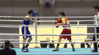 H29 全日本 B級 川田憲昇 対 坂本佳朗 ボクシング