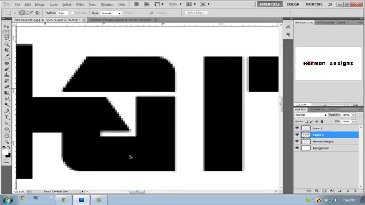 Photoshop: How make your Own Logo or Tweak your Font Type in ...