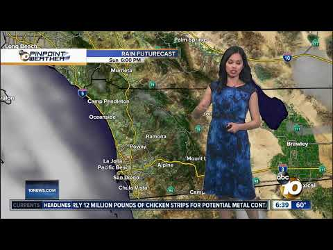 10News Pinpoint Weather for Sun. May 5, 2019