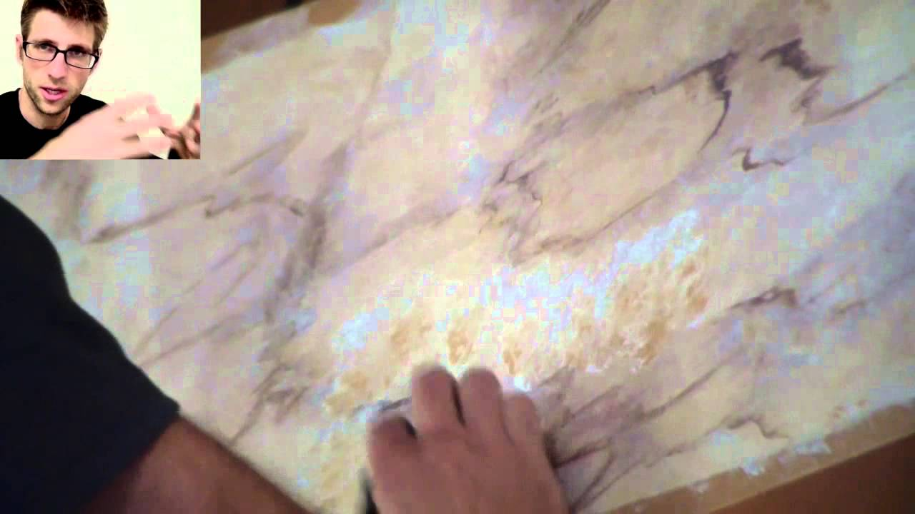 How To Paint Marble Youtube