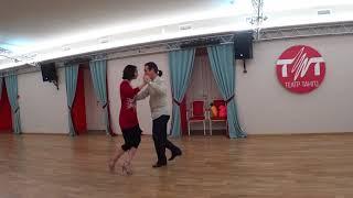 Урок 63. Танго. Сакада с украшением.