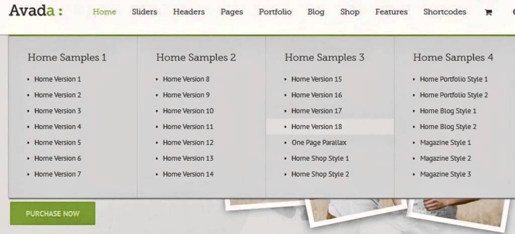 How many different types of template can i create using AVada Theme ...
