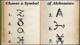 Choose a Symbol of Alchemists Discover Your Life Lesson