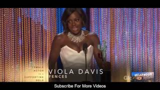 Viola Davis (Female Actor) Speech  at The 23rd Annual Screen Actors Guild Awards 2017 Video
