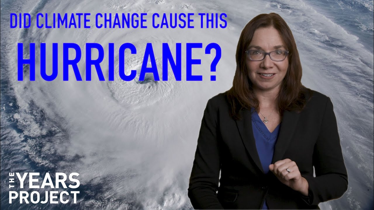 Did Climate Change Cause This Hurricane?