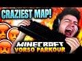 CRAZIEST MINECRAFT PARKOUR MAP!