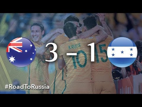 Australia vs Honduras (FIFA Wo australia