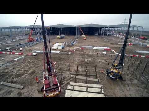 Aarsleff Ground Engineering - The Range Mega Distribution Hub