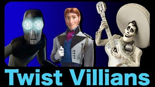 Disney's Twist Villains: Worst to Best