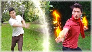 Bending Battle - Air vs. Fire (Avatar: The Last Airbender) ft. Mike Bow