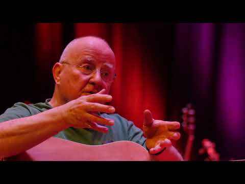 Christy Moore talks about 25 years at University Concert Hall