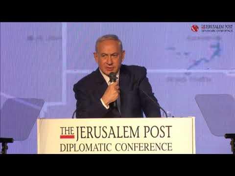 Prime Minister Benjamin Netanyahu on the Iran threat at Jerusalem Post's 2017 Diplomatic Conference,